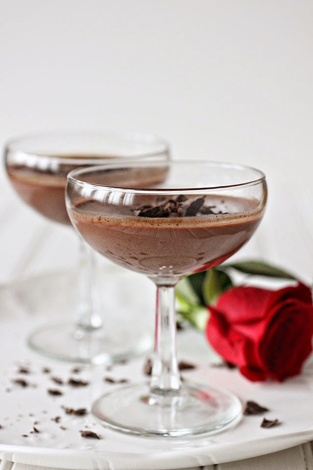 ambrosia: Chocolate Panna Cotta