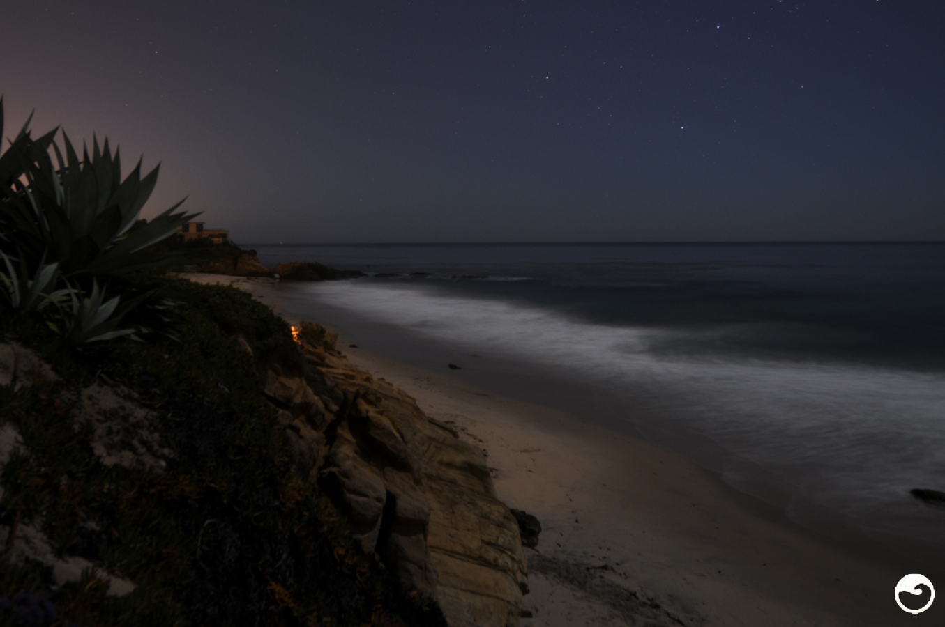 Pearl Street Night Laguna Beach CA C Tiner