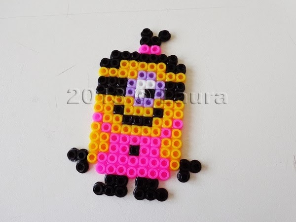 Laura fa pyssla hama beads for Immagini cattivissimo me da colorare
