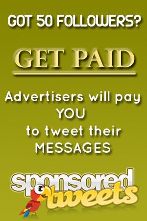 Spondored Tweets' Payments