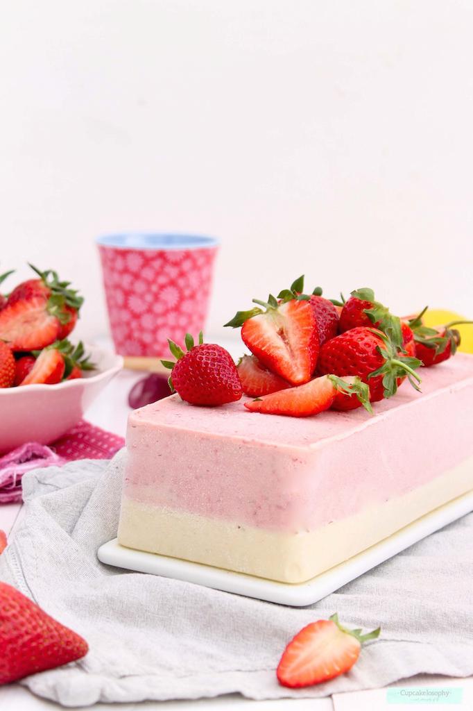 receta de tarta helada de thermomix en molde lekue