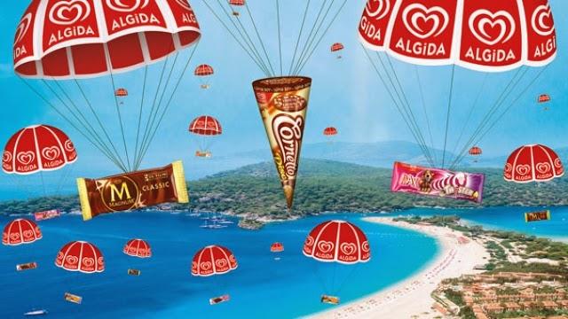 Algida, Gökten Dondurma Yağdırarak Yaza Merhaba Reklami İzle Türkiye yarışıyor. #GöktenDondurmaYağsa hashtagiyle Twitter'da şehrinin adını tweetle, en çok tweet alan 5 şehre dondurma yağsın   Algida, yaptığı yıllık basın toplantısında hem 2013 gelişmelerini hem de 2014 sürprizlerini basın mensuplarıyla paylaştı. Unilever Gıda Pazarlamadan Sorumlu Başkan Yardımcısı ve Yönetim Kurulu Üyesi Mustafa Seçkin,