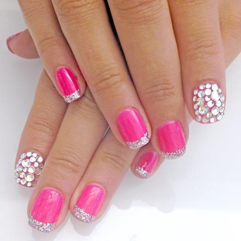 Pink Vs Blue Nail Paint