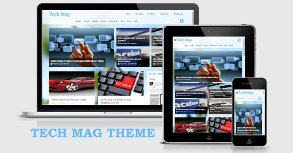 TechMag responsive template