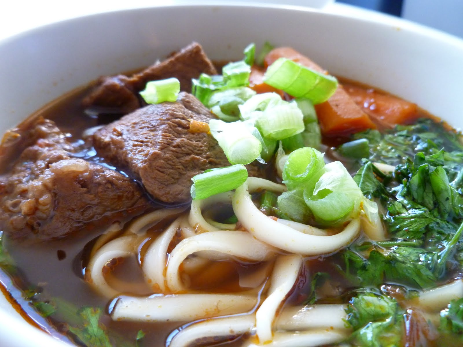 Taiwanese Beef Noodle Soup (台灣牛肉麵) | Vee's Tea Room