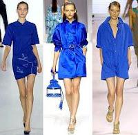 Ropa de moda azul (significado y simbolismo)