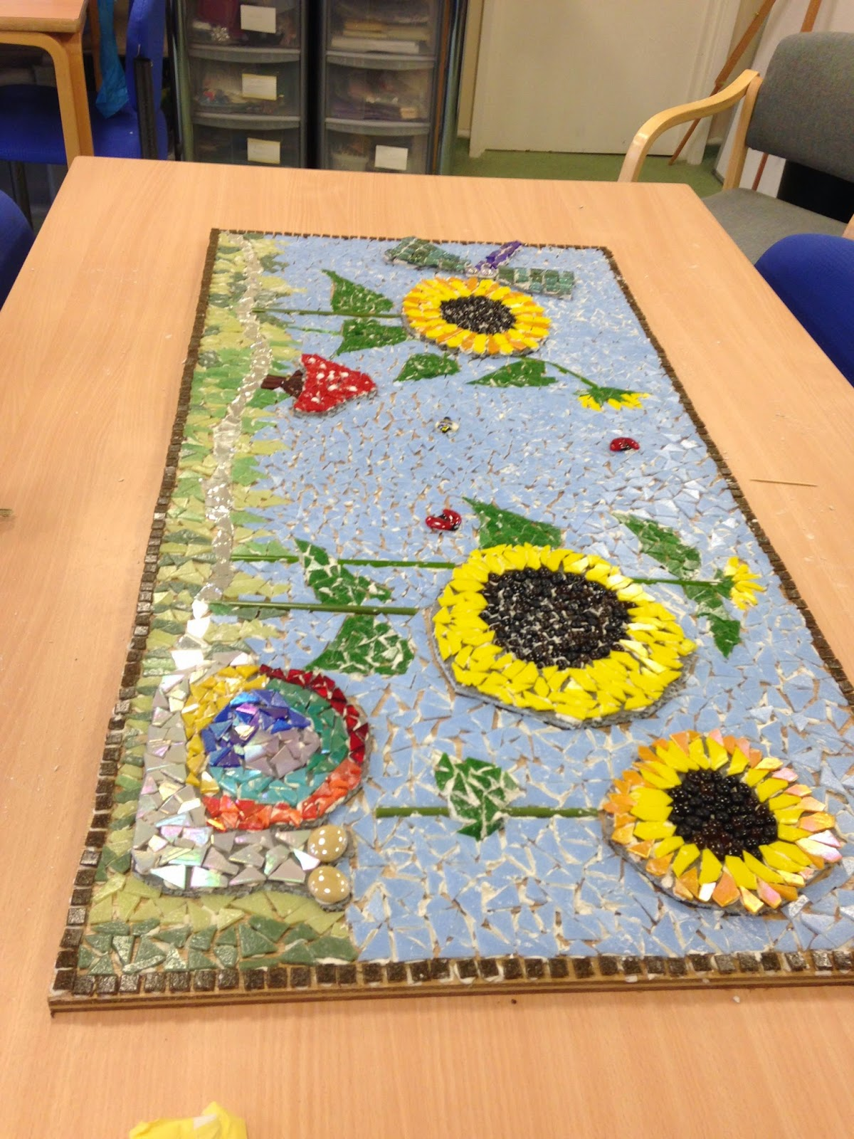 creative therapy mosaic, lime walk house