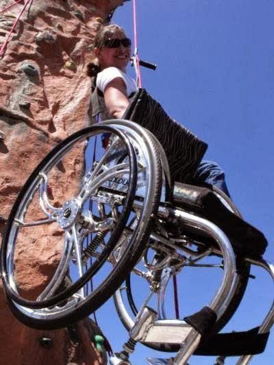 Cadeirante superação