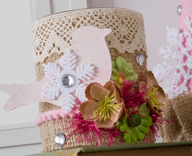 Cathie filian diy country chic christmas for Country chic christmas