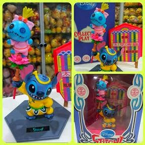 JAPAN DISNEY STITCH & SCRUMP COLLECTIBLE PLAY SET