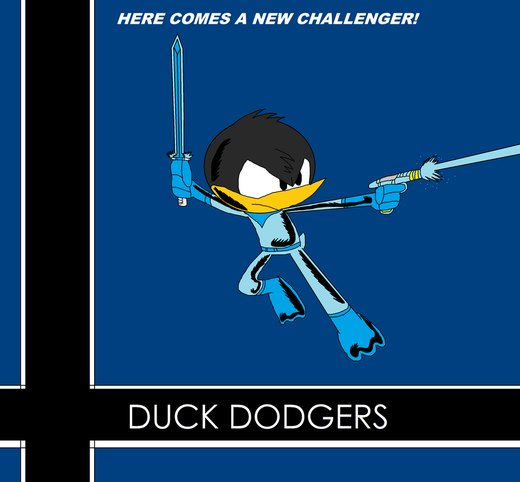 Chaos Melee: Duck Dodgers por thekirbykrisis