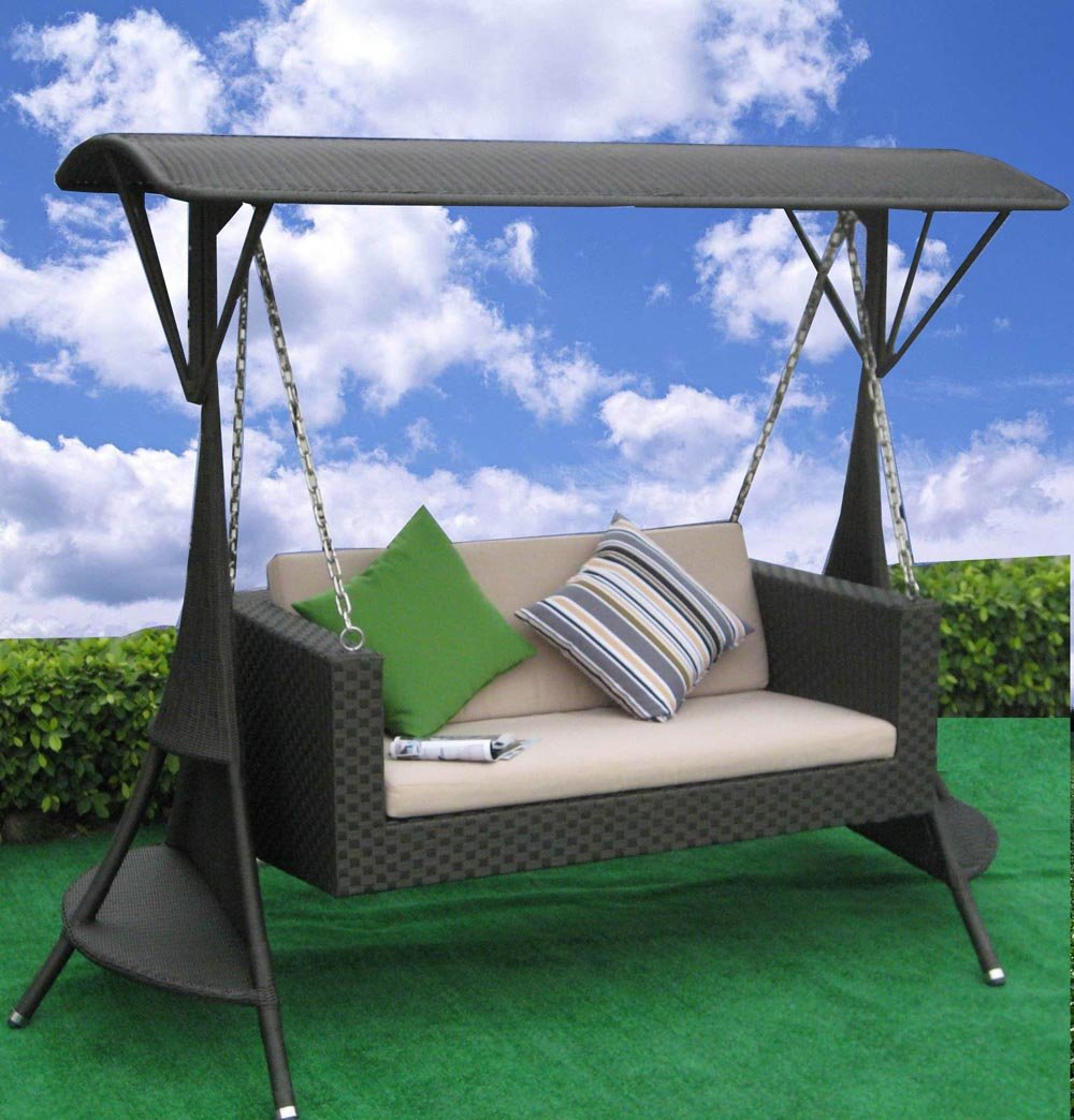 Patio swing sets patio design ideas for Garden sit out designs