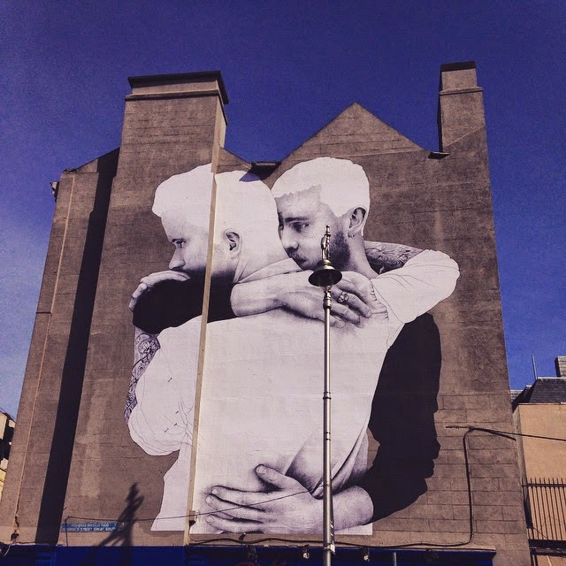 The playlist may 2015 for Dublin gay mural