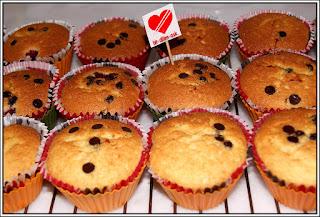 Frambuazlı Cupcakeler