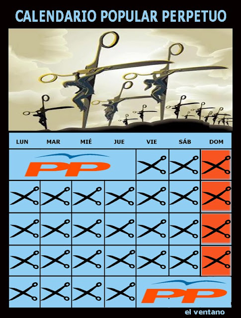 Calendario perpetuo del PP