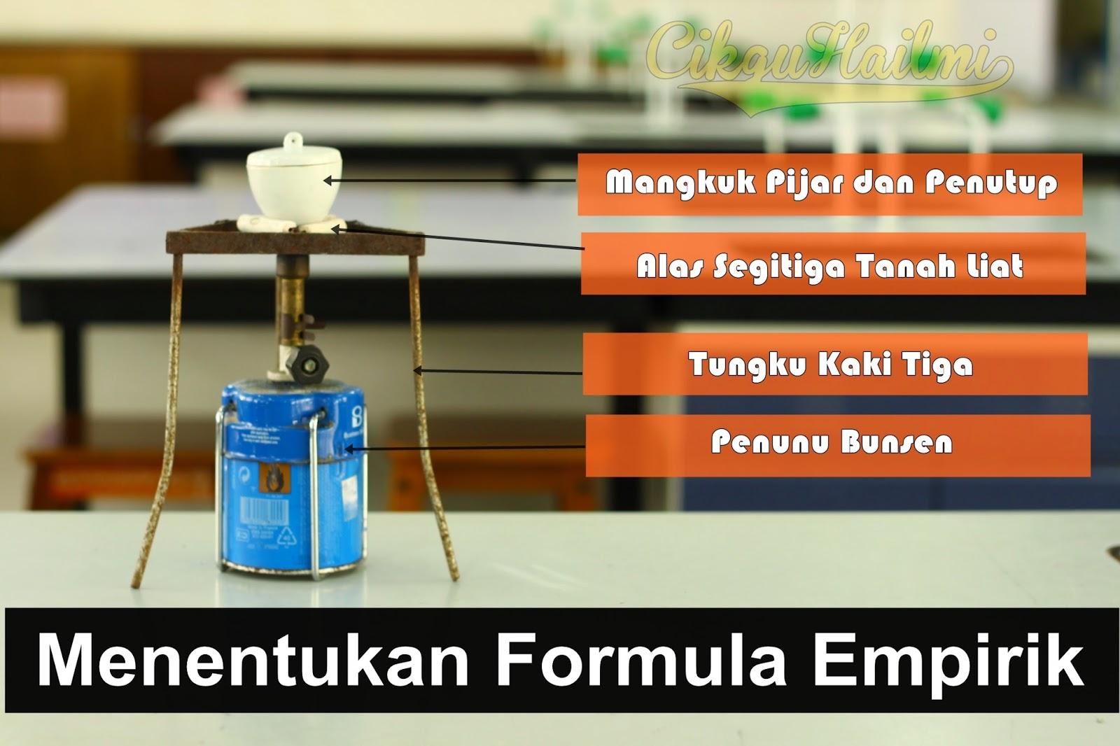 Eksperimen Menentukan Formula Empirik bagi Magnesium Oksida