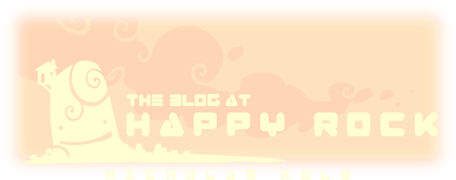 The Blog at Happy Rock
