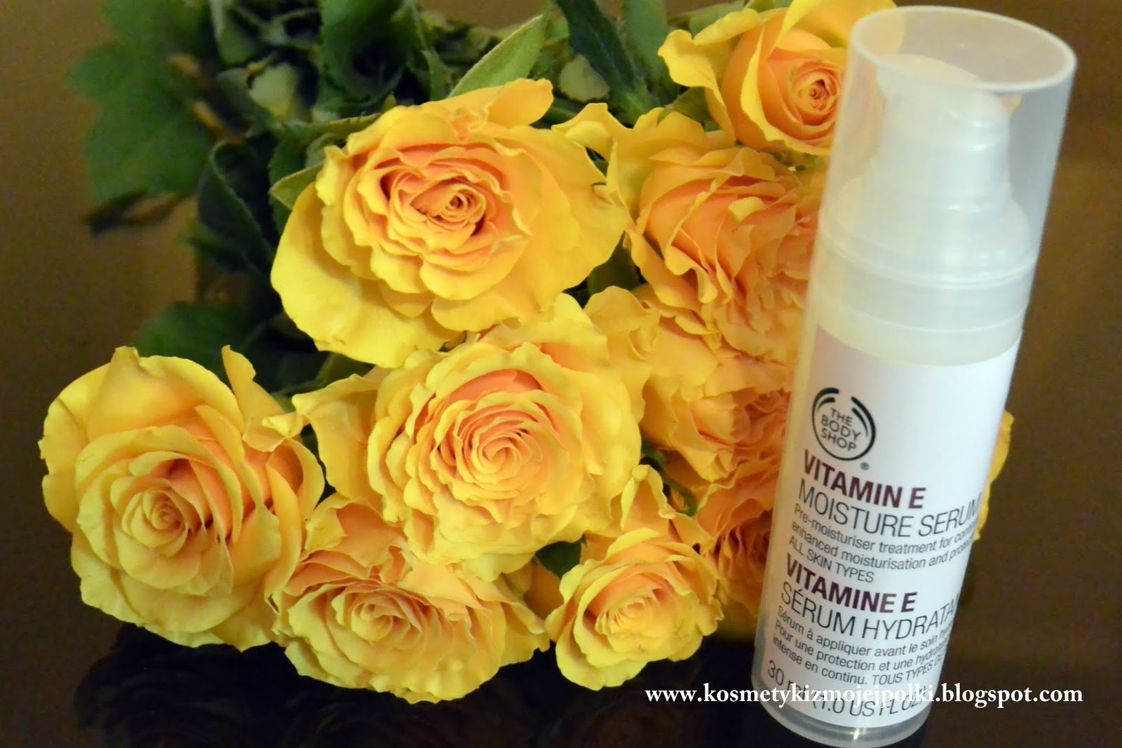 VITAMIN E MOISTURE SERUM / Serum Nawilżające THE BODY SHOP