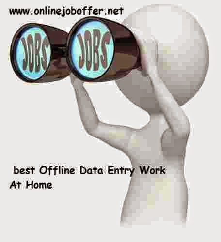 real data entry jobs from home without investment