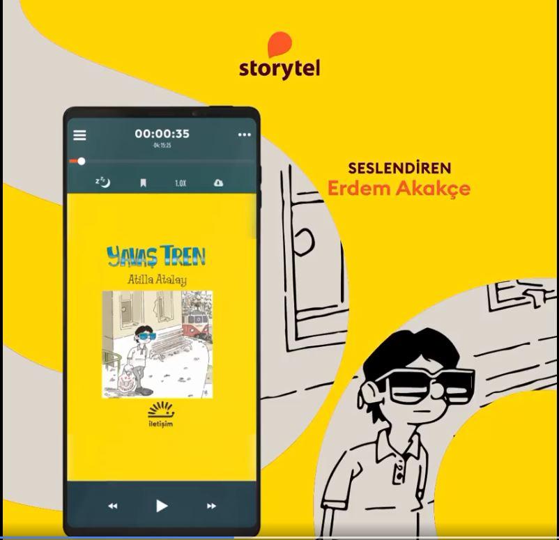 YAVAŞ TREN Sesli Kitap Platformu Storytel'de