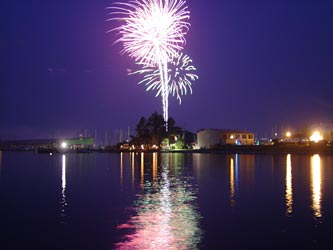 Fireworks Tonight Virginia Beach