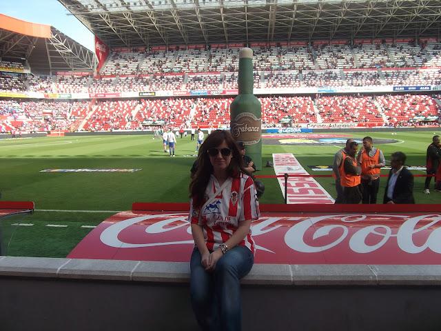 Sporting Molinón Gijón fútbol estadio