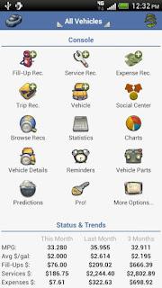 aCar – Car Management, Mileage apk