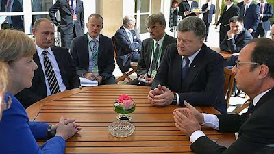 """In Paris, the leaders of the """"Normandy Four"""" agreed on the provisions to end the war in the Donbass."""