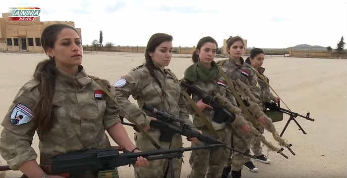 Αυτές οι γυναίκες δεν έφυγαν από τη Συρία – Δείτε το εθελοντικό σώμα που πολεμά τους ισλαμιστές αντάρτες