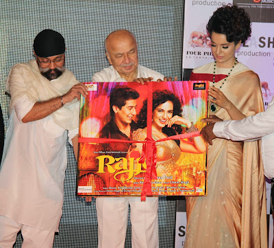 Kangana Ranaut and Home Minister Shinde at Rajjo Movie Audio Launch