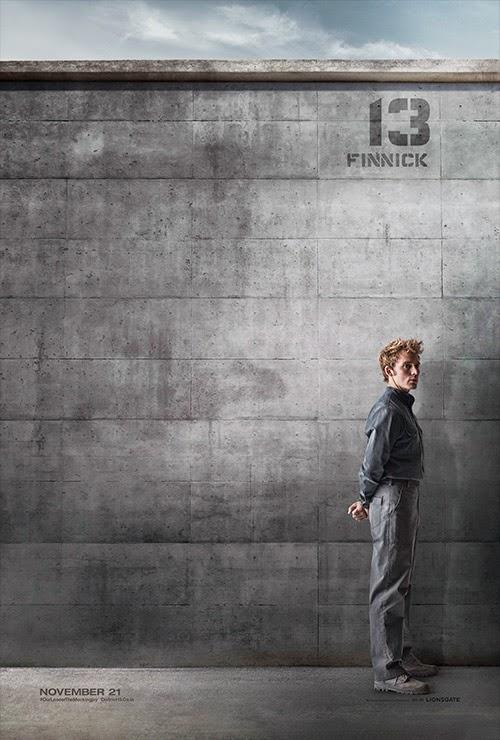 Finnick Mockingjay Poster