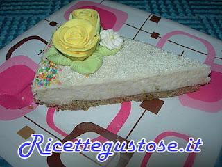 cheesecake alle banane , ricetta cheesecake