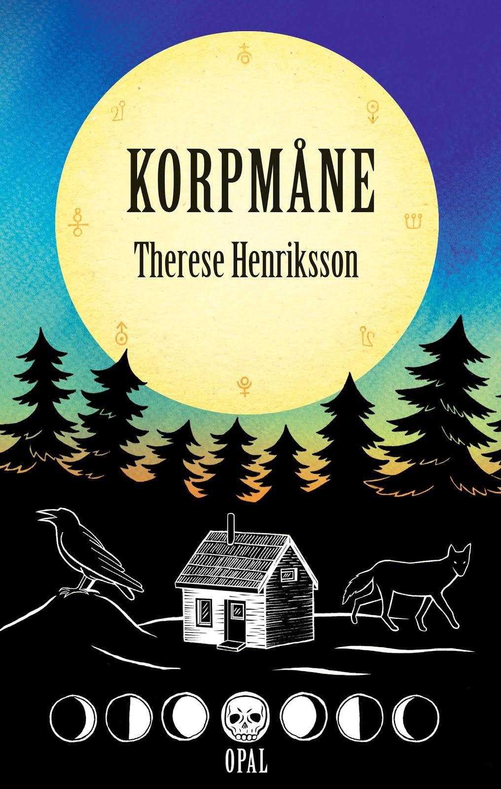 "Boktips! ""Korpmåne"", en magisk ungdomsbok som utspelar sig i Norrbotten."