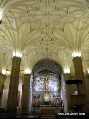 Interior Colegiata Bolea, Huesca