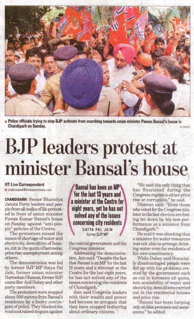 Bansal has been an MP for the last 13 years and a minister at the Centre for eight years, yet he has not solved any of the issues concerning city residents - Satya Pal Jain former BJP MP