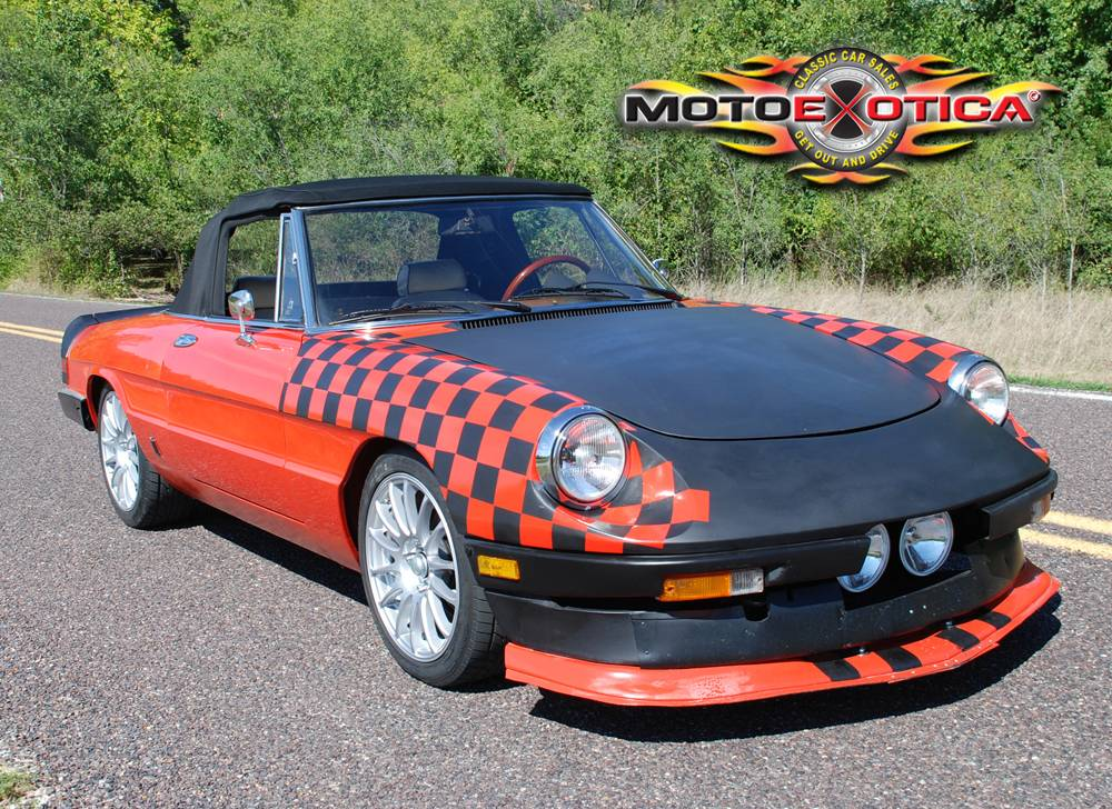 Daily Turismo K Alfa Romeo Spider Custom Paint Riddler - 1980 alfa romeo spider for sale