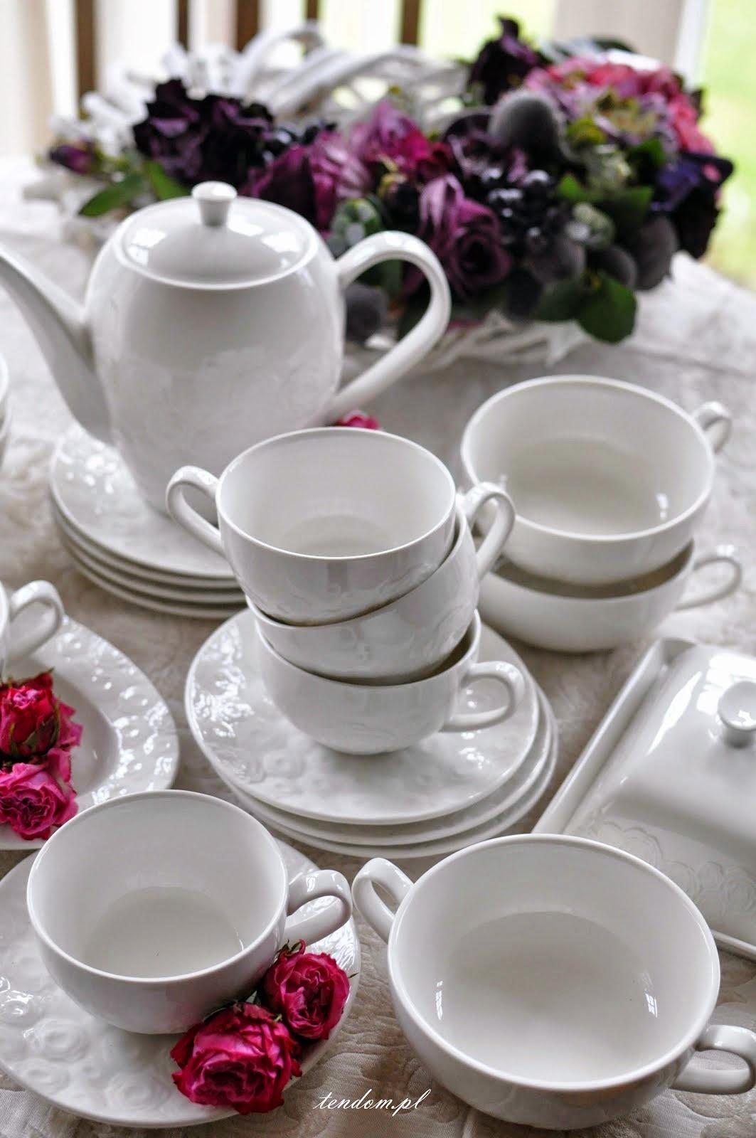 Zastawa stołowa Różana