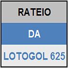 LOTOGOL 625 - MINI RATEIO