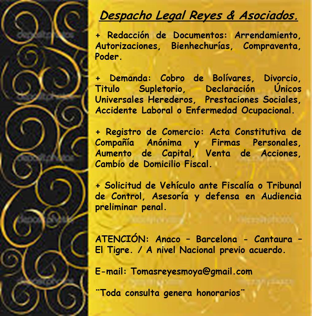 Despacho Legal & Asociados.