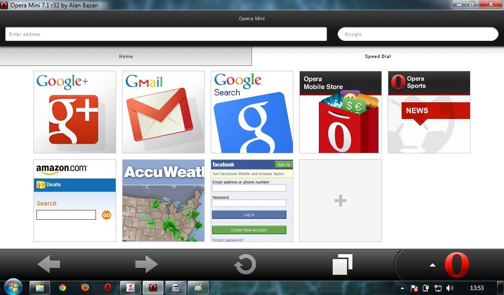 Opera Mini Download for Laptop
