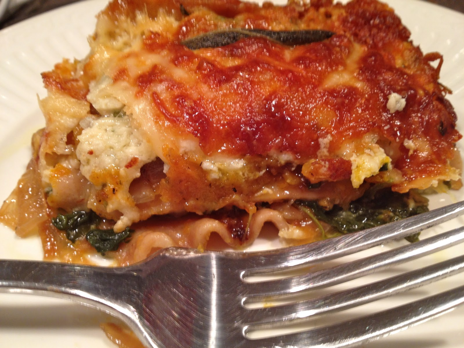 Call Me Mrs. Rapp: Roasted Butternut Squash & Sweet Potato Lasagna