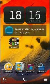 lagenda4046 symbian001 Dual Home Screens 1.0 Symbian^3 Nokia Belle Signed Retailed by Ayurvedic!