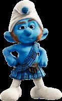 Donwload imagem Mascotes Gutsy+Smurfs
