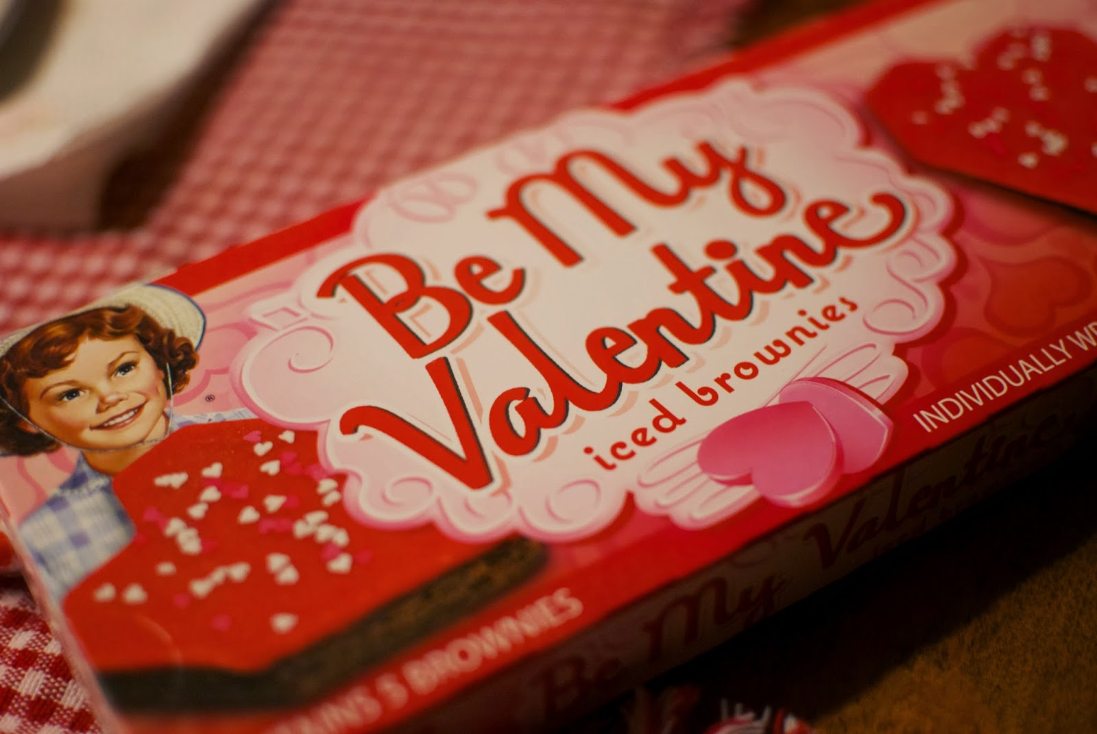 The Holidaze Little Debbie Be My Valentine Brownies