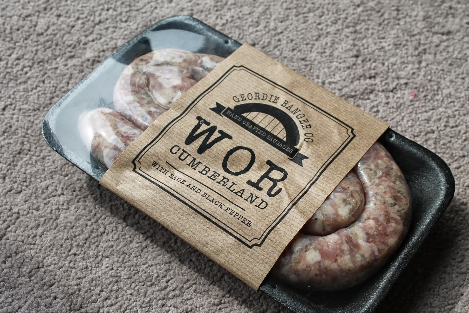 Geordie Banger Co. Sausages - Wor Cumberland Review