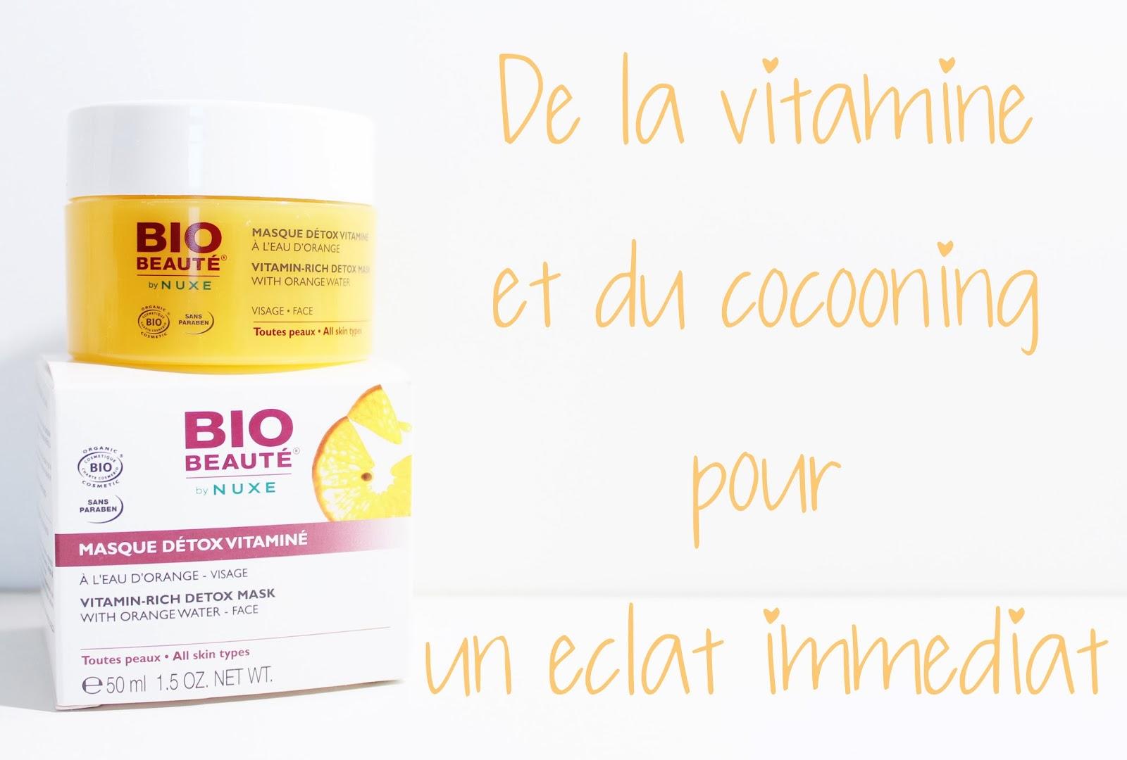 Beeboo La Flibustière: Masque Détox Vitaminé pour une peau