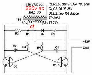 skema+inverter+dc12v+ke+ac220c