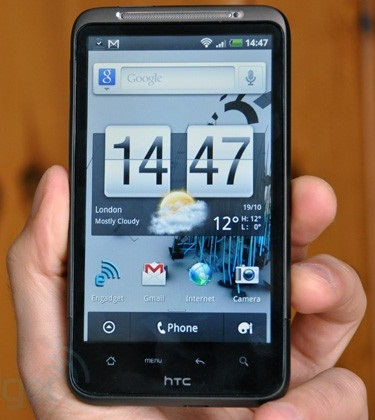 HTC Desire HD Browser Sensations