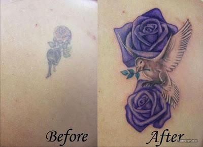 Tatuajes Para Tapar Otro Tatuaje pasado pisado: mira los mejores tatuajes hechos para cubrir otros