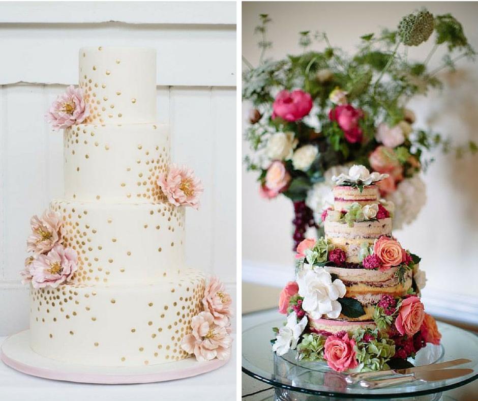 красиви и нестандартни сватбени торти